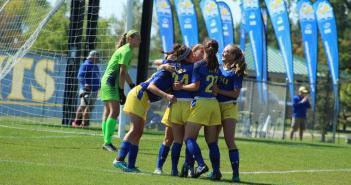 Soccer huddle