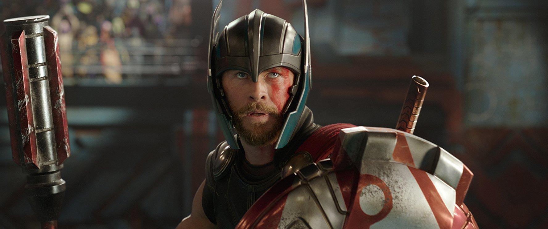 """MARVEL Chris Hemsworth stars as the title character, Thor, the Nordic god of thunder. """"Thor: Ragnarok"""" opened with over $123 million in its opening weekend, making it the fourth largest opening for the year."""