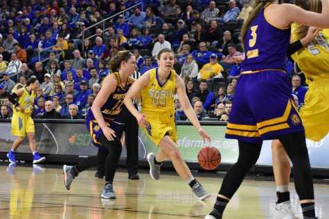 SDSU women advance to Summit League Championship