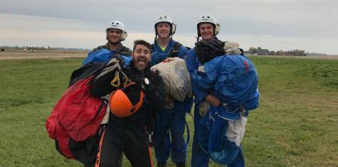 Free falling for fun: SDSU Skydiving Club seeks thrills