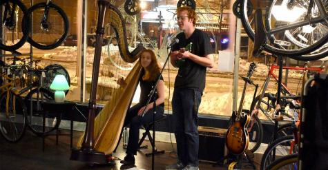 Bluestem Bicycles hosts first concert
