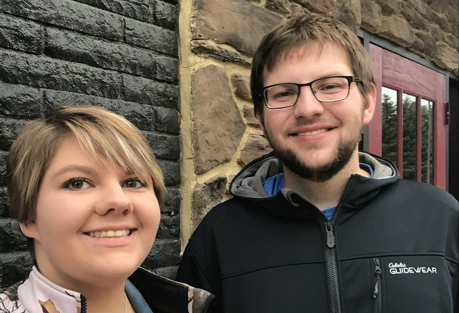 HALEY HALVORSON Sasia Heitkamp and Chase Pinkert go to Craft Italian-American Fusion in Brookings on a blind date.