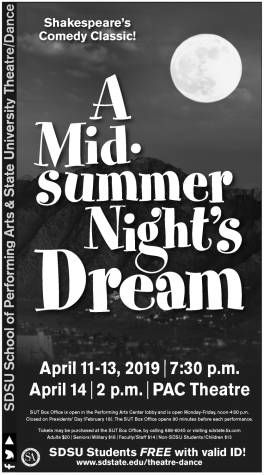 Students take new PAC stage for production of 'A Midsummer Night's Dream'