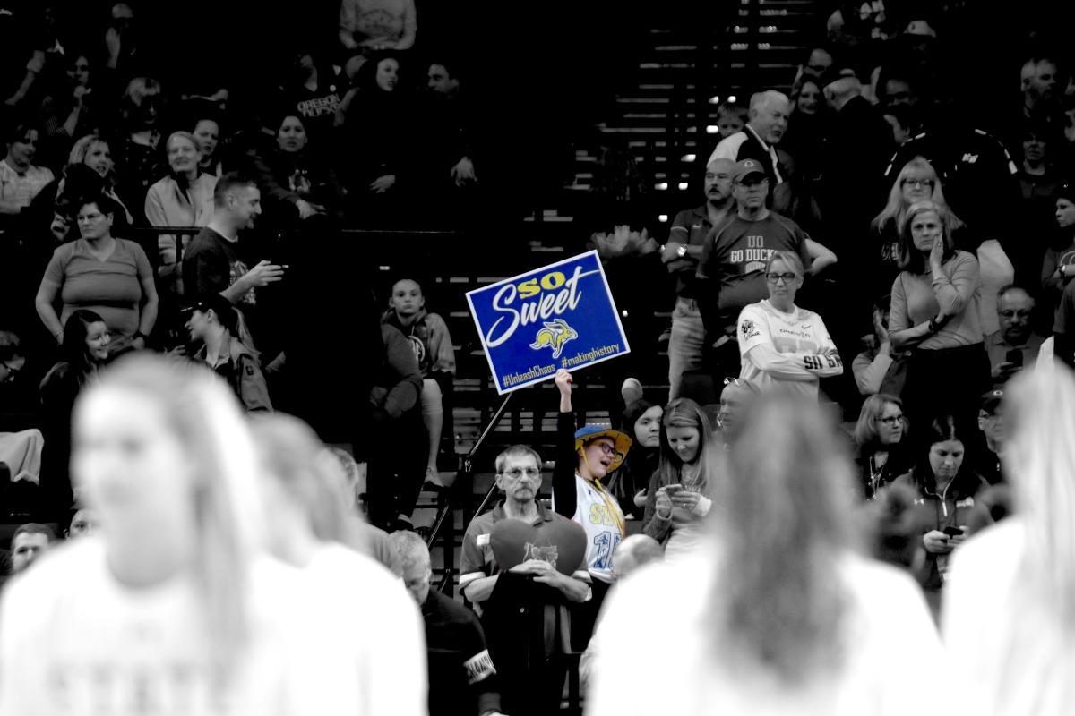WBB NCAA Sweet 16 vs. Oregon