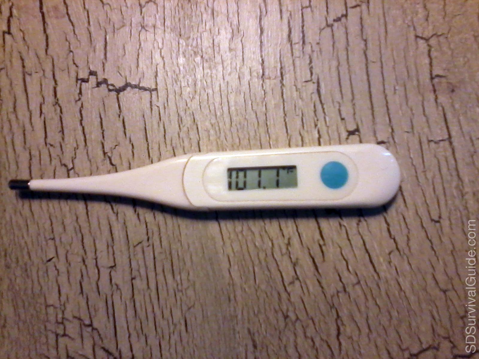 Thermometer Sango Survival Guide