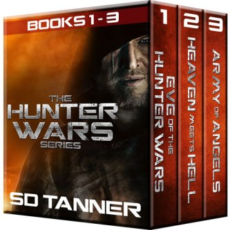 Hunter Wars Books 1-3 on Amazon