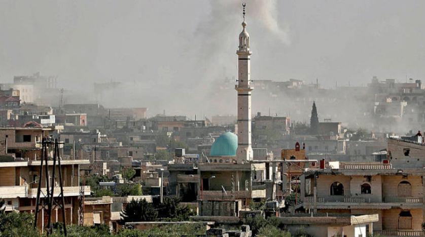 فصائل مقاتلة تقصف مواقع النظام في إدلب غداة التصعيد الروسي