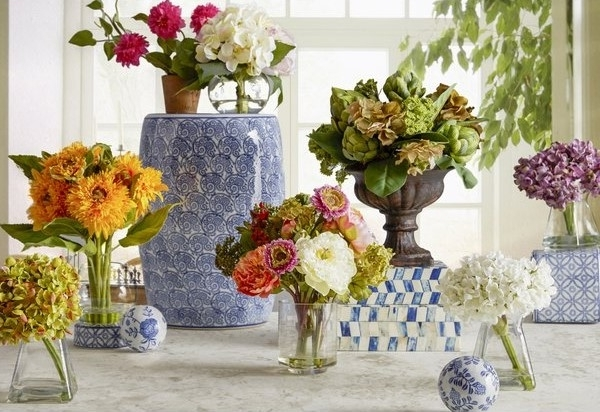 20 Ideas Of Artificial Floral Arrangements For Dining Tables