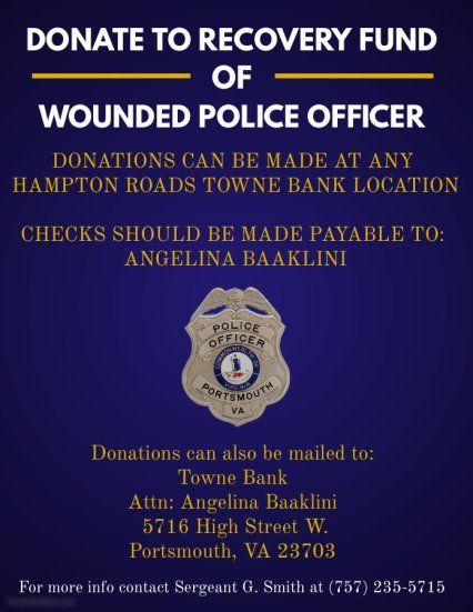 Portsmouth Police Officer Recovery Fund