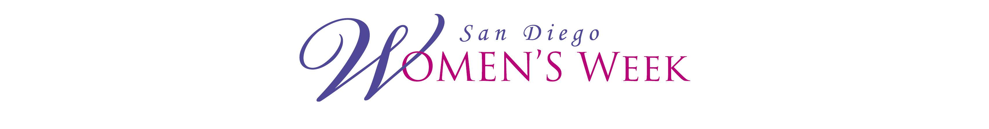 San Diego Women's Week Logo