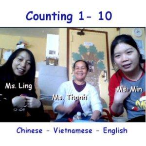 Count 1-10 Trilingual