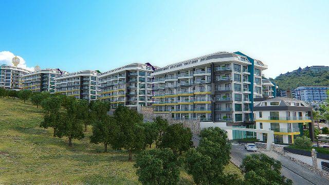 002 Till salu Lägenhet i Alanya (  Kargicak )