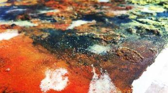 colouring metal still