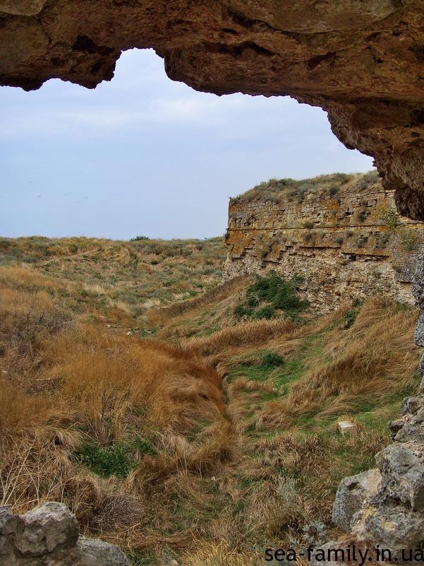 арабатская стрелка крепость