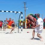 На городском пляже прошел ежегодный турнир по пляжному футболу