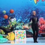 Финальная шоу-программа дельфинария Оскар-Геническ в 2014 году