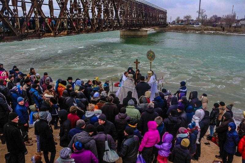 Крещение Господне в Геническе