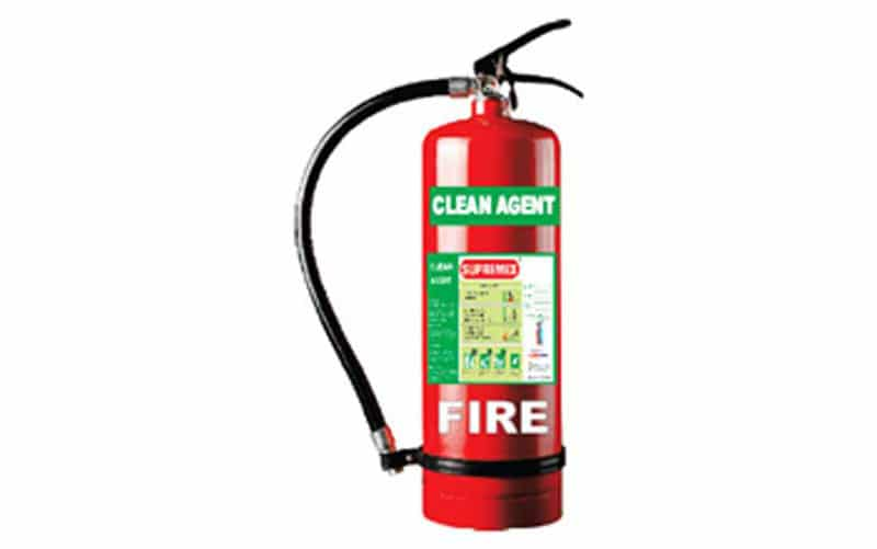 Clean Agent Fire Extinguisher - SEA MAX FIRE ENGINEERING WORKS