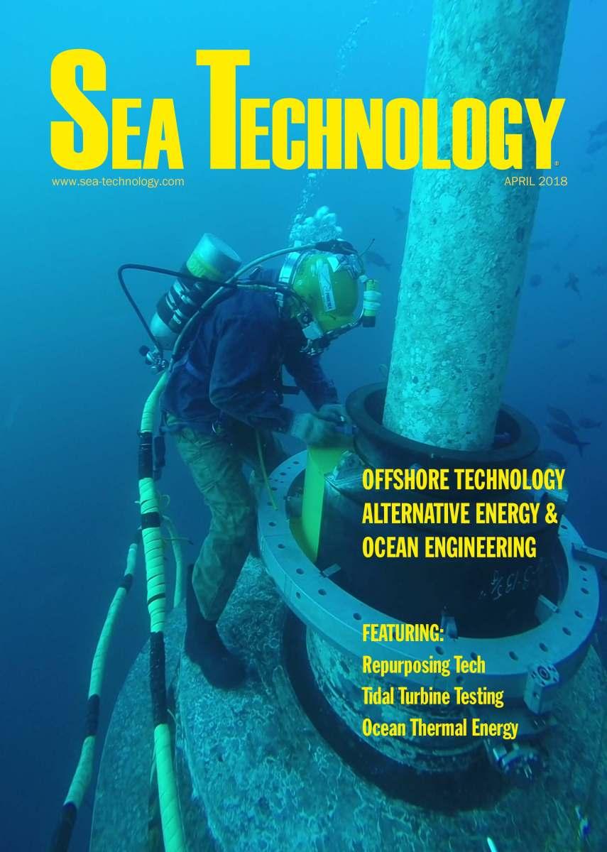 Sea Technology, Vol. 59, No. 4—April 2018