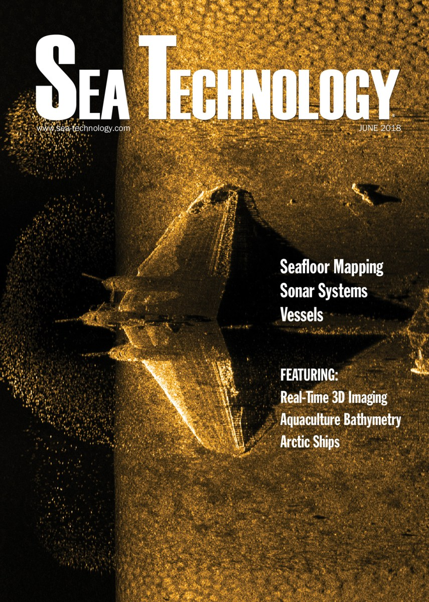 Sea Technology, Vol. 59, No. 6—June 2018