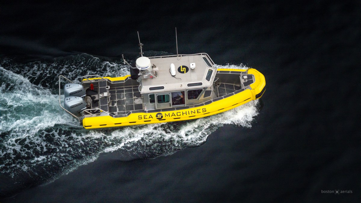 $12.5 Million Investment Funds Sea Machines Technology Research