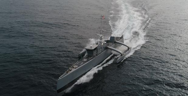 Autonomous Antisubmarine Vessel Completes Trip to Pearl Harbor