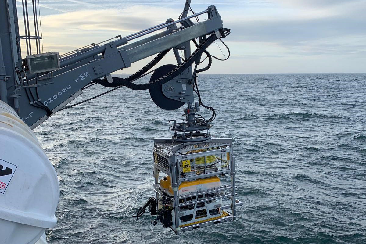 ROV Launch & Recovery System Delivered to New Zealand Navy