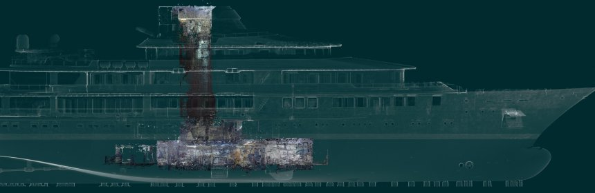 3D laser scanning for ship design