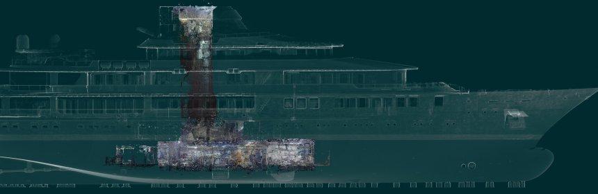 3D laser scanning for ship design