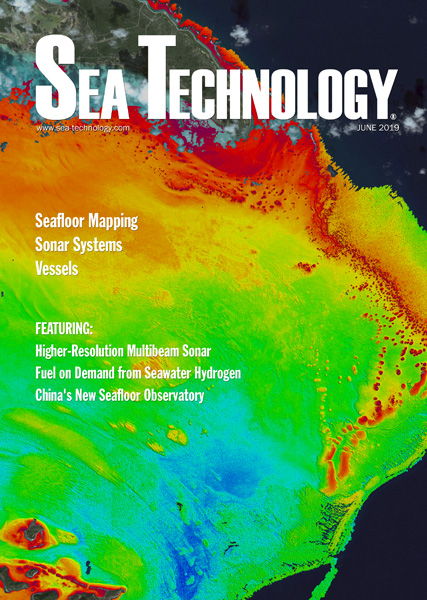 Sea Technology, Vol. 6, No. 6 - June 2018 issue.