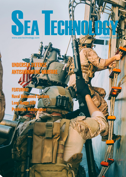 Cover of the November issue.
