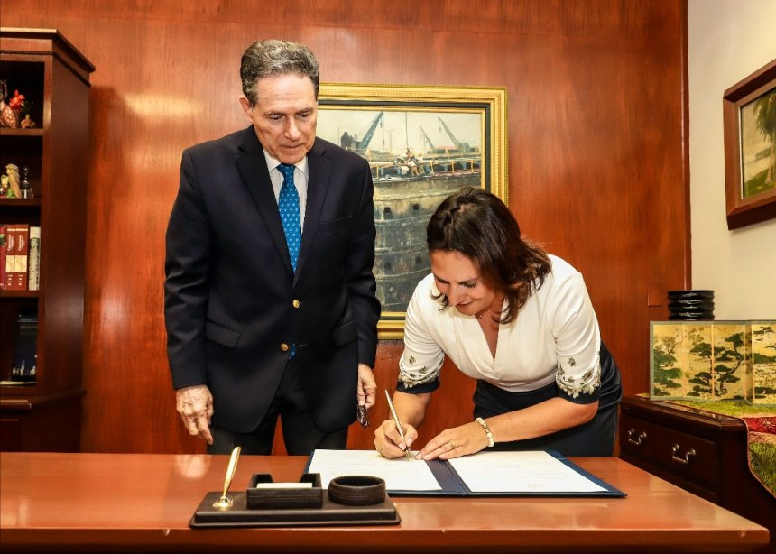 Ilya Espino de Marotta Deputy Administrator of the Panama Canal