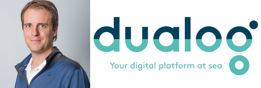 Richard Bjercke, new Sales Manager at Dualog with special responsibility for the UK market.