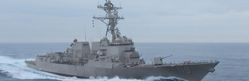 Navy Destroyer USS Delbert D. Black