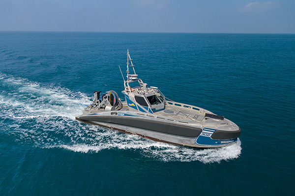 Elbit towed array for USVs