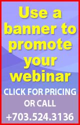 Promote your webinar!