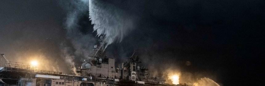 USS Bonhomme Richard US Navy