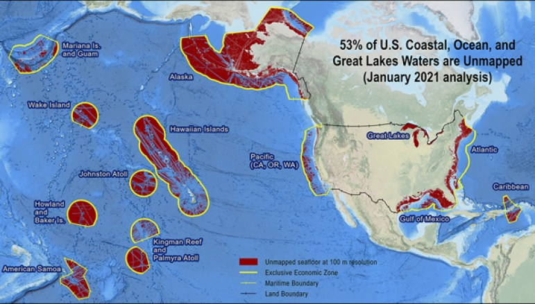 NOAA US Waters Mapping