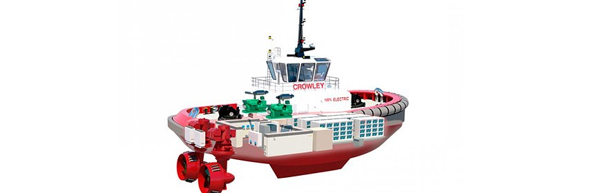 energy storage system for the all-electric tug eWolf