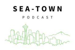 Sea-Town Podcast logo