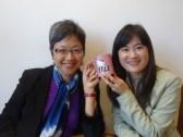 Christine Yano with Heidi Lam