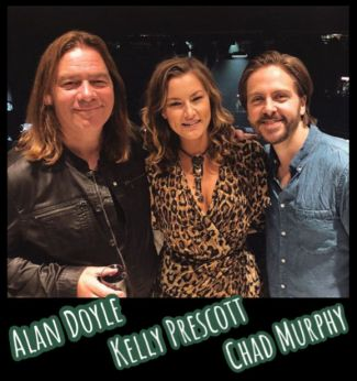 Alan Doyle, Kelly Prescott & Chad Murphy via instagram