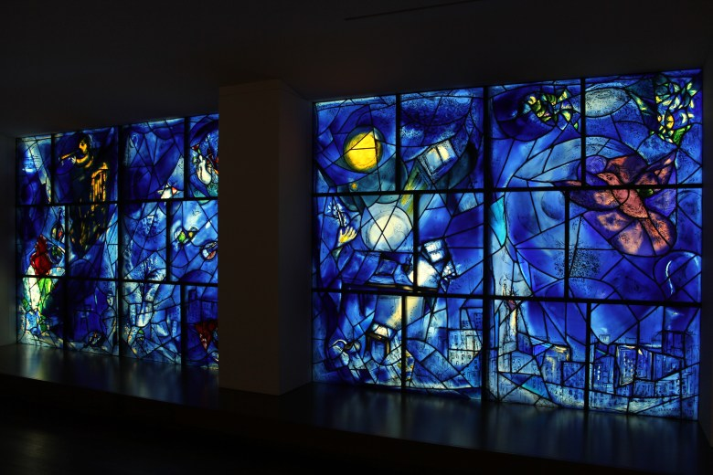 Chicago art institute chagall america window