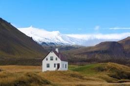 maison à snaefellsnes en islande