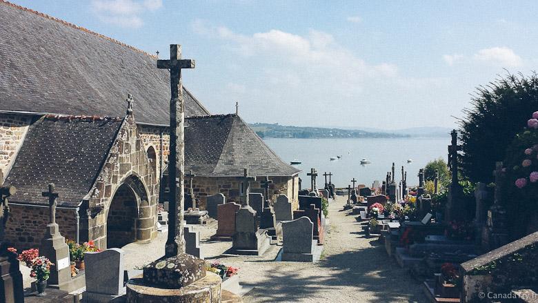 cimetière landévennec