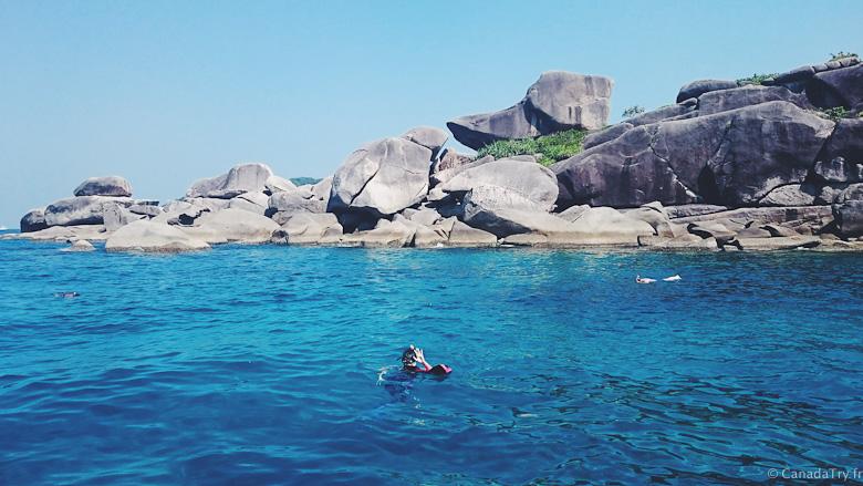 site snorkeling thailande