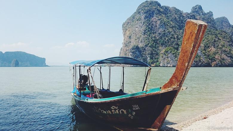 james bond island bateau thailande