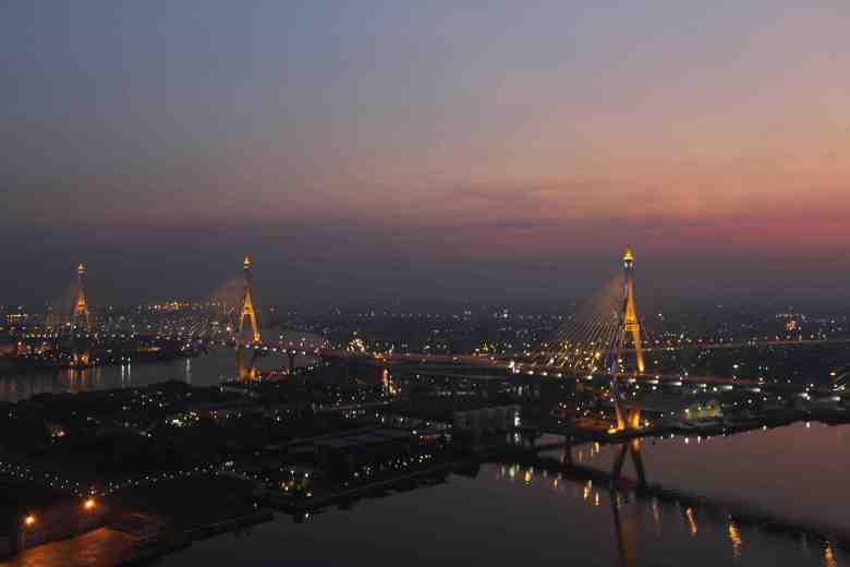 rooftop bangkok view