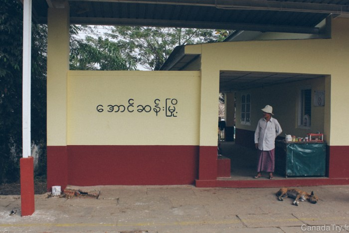 station train birmanie