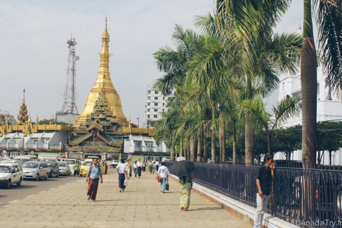 visite yangon birmanie
